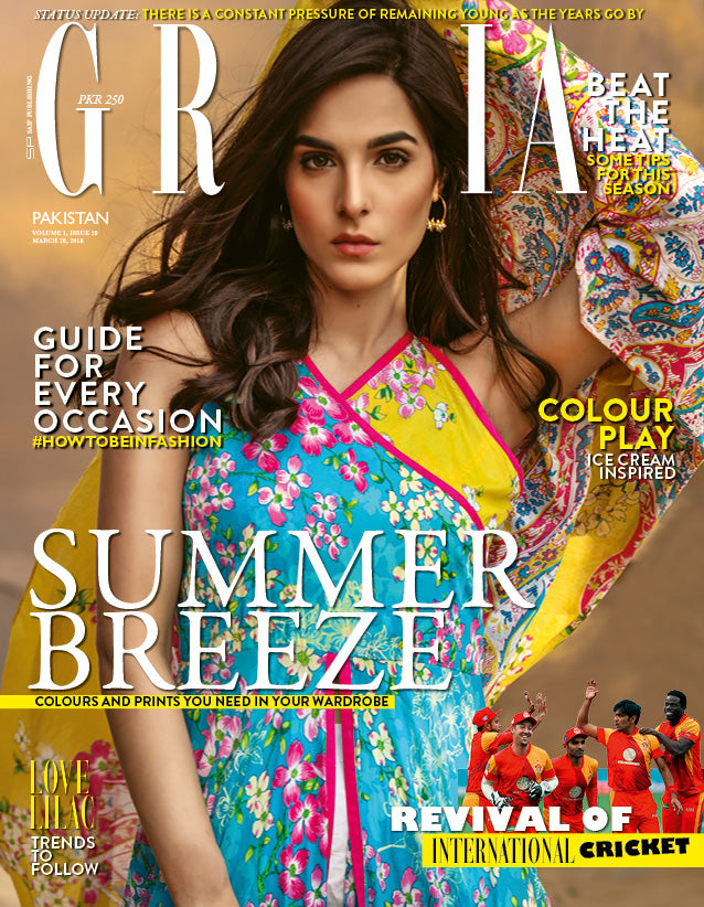 Grazia Pakistan March 20th Issue 2018