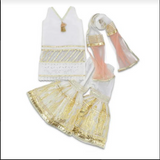 Little Ladies Armoire - Gorgeous White Outfit