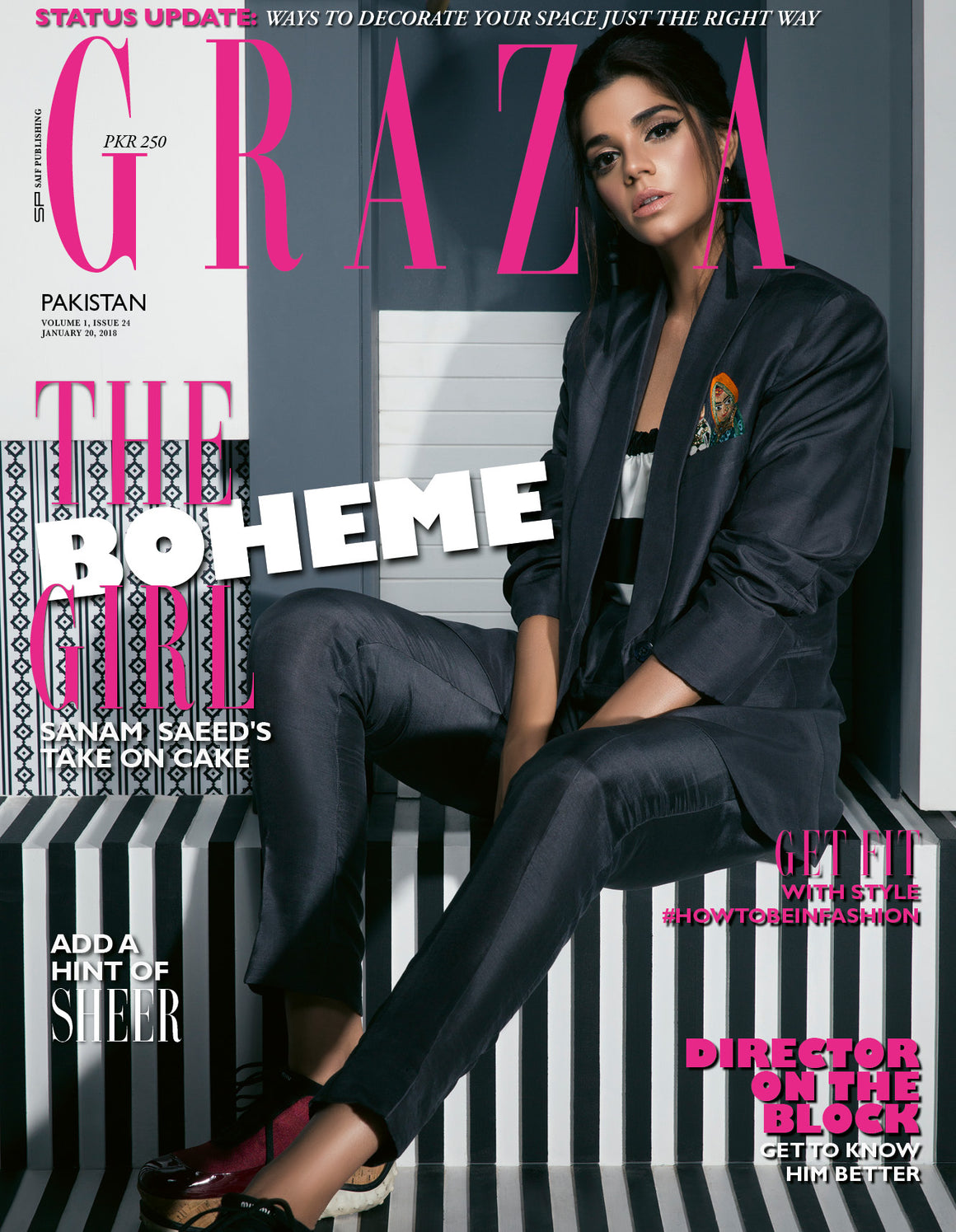 Grazia Pakistan January 20th Issue 2018