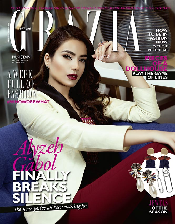 Grazia Pakistan October 20th Issue 2017