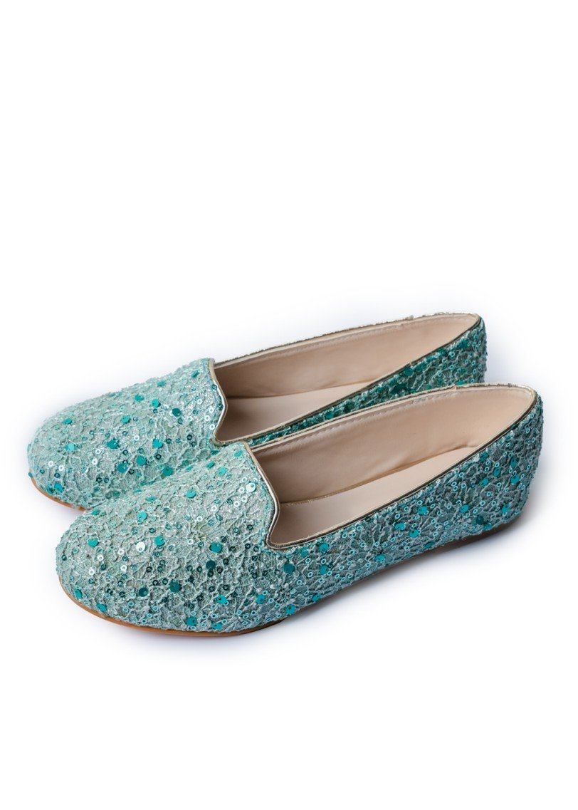 JootiShooti - Mint Crush Loafers