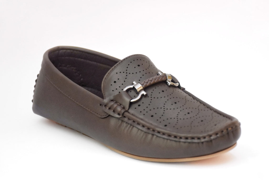 Milli Shoes - Brown Mocassion