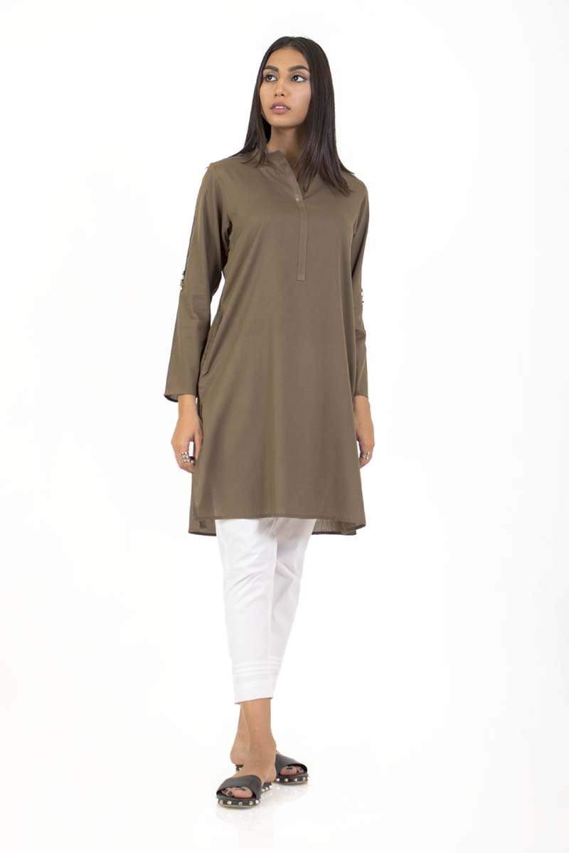 Ego - Army Green Kurta - Unleash