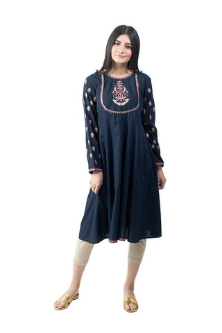 Ego - Navy Anarkali