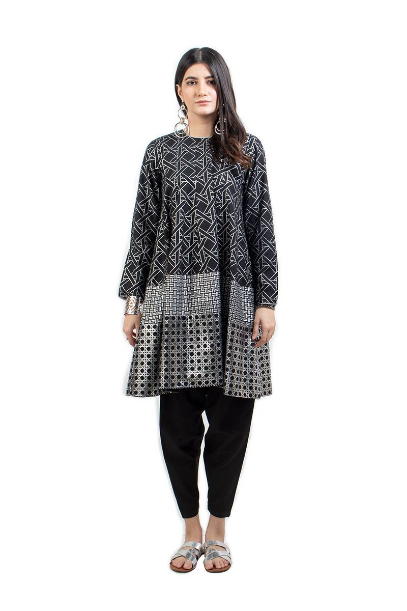 Ego - Jhilmil Black - 2 PC