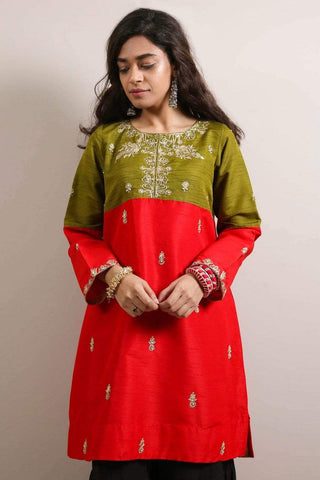 Generation - Red Royal Of Kutch Shirt