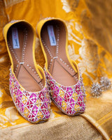 JootiShooti - Yellow and Pink Suraj Mukhi