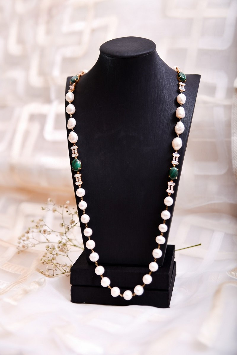 Shaista Jewelry - Malachite Madness Necklace