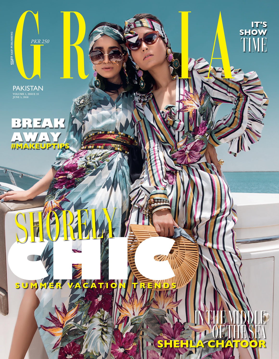 Grazia Pakistan June 5th Issue 2018