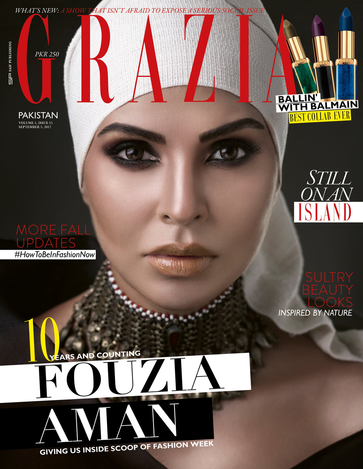 Grazia Pakistan September 5th Issue 2017