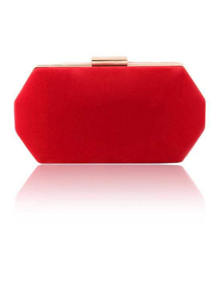 Hermosa - Celia Red Clutch