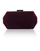 Hermosa - Celia Purple Clutch