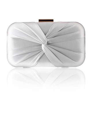 Hermosa - Zarita Cool Grey Clutch