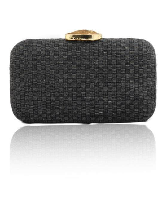 Hermosa - Limited Edition Charcoal Grey Clutch