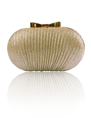 Hermosa - Diana Gold Clutch