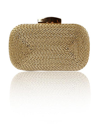 Hermosa - Victoria Gold Clutch