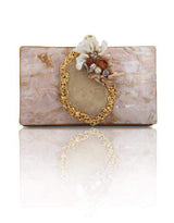 Hermosa - Deena Gold Clutch