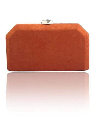 Hermosa - Nicole Orange Clutch