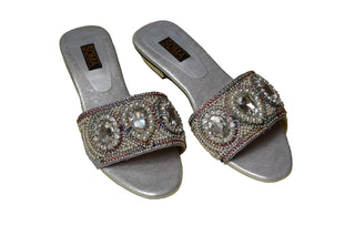 Soma - Silver Zugang Hand Crafted Footwear - Studio by TCS