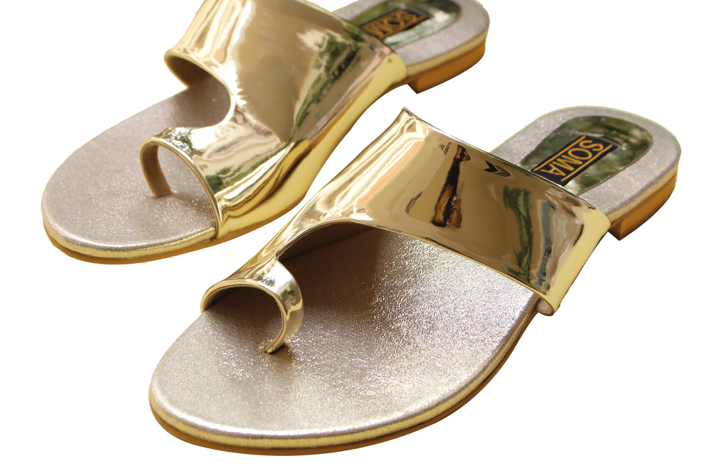 Soma - Golden Toony Hand Crafted Footwear