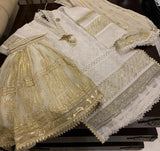 Little Ladies Armoire - White Outfit in Original Lucknow Chikankari