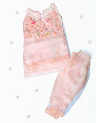 Little Ladies Armoire - Pinkish Peach Outfit