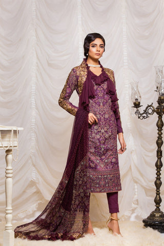 Alkaram Studio - Purple JC-09-19-B