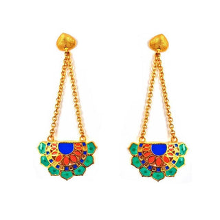 Red Dot Jewels - Jaipur Love Fan