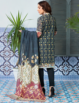 Khas Stores - Blue Jungle Treaks 3 PC - KLA - 9083 - Unstitched