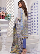 Khas Stores - Unstitched Turkish Mosiac Kla-9047
