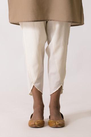 Ego - Cream Pearl Tulip Pants