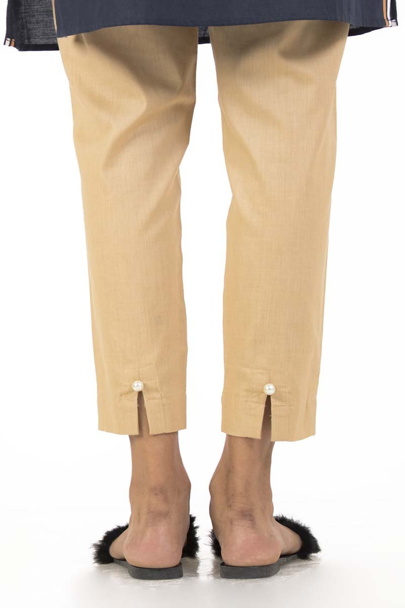 Ego - Beige Basic Cigarette Pants - LW0187