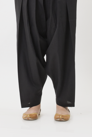 Ego - Black Basic Shalwar - LW0202