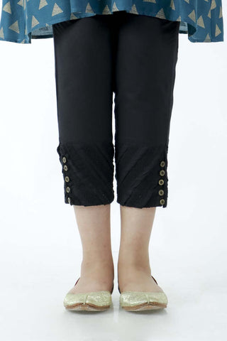 Ego - Black Diagonal Pants