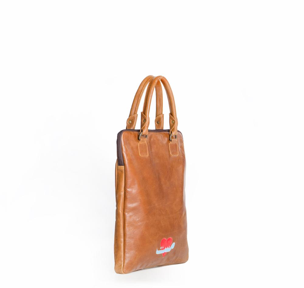 Mahin Hussain - Mast Leather Tote