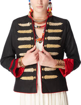 Nadya Shah - Military Dilemma Jacket
