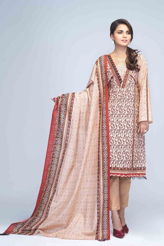 Bonanza Satrangi - Light Peach Kashish - 2 PC