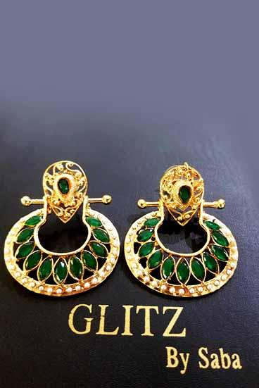 Glitz By Saba - Rave Earrings