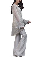 Sania Maskatiya - Net Embroidered Hand Worked Jacket