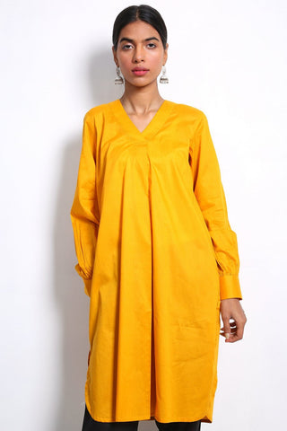 Generation - Orange Sunehri Sitara Shirt - 1 PC