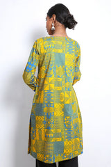 Generation - Blue Yoruba Kurta - 1 PC