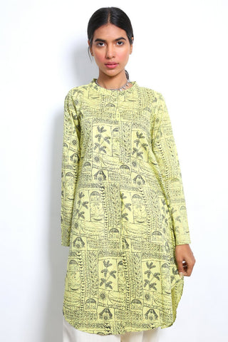 Generation - Lime Siyaah Sitara Shirt - 1 PC