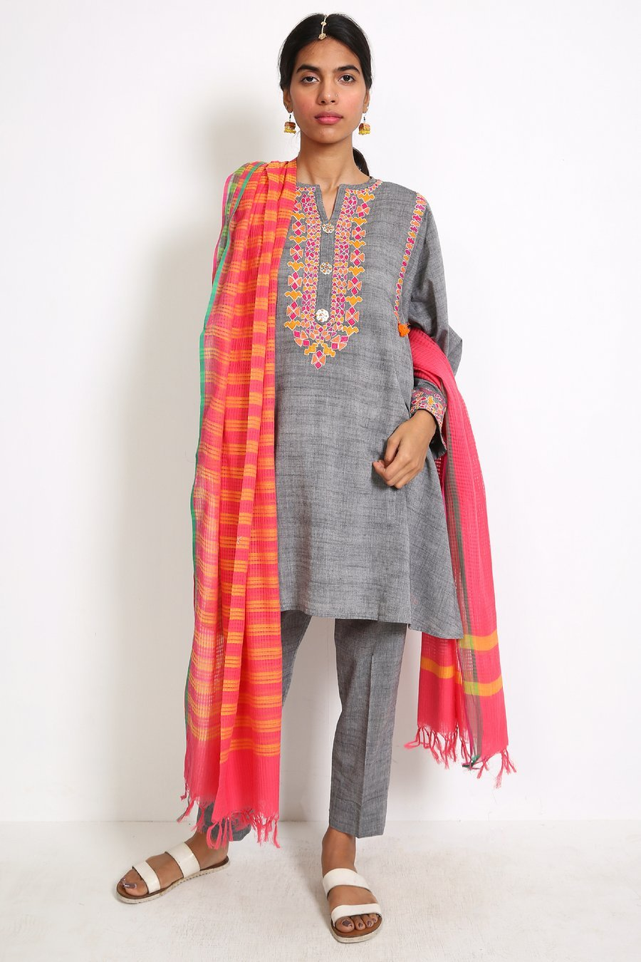 Generation - Grey Kochi Suit - 3 PC