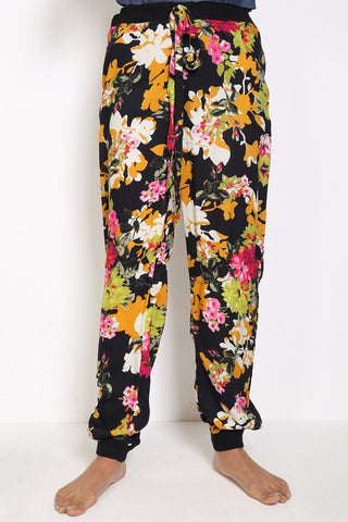 Generation - Black Pajama Party Jogger Pants