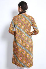 Generation - Mustard Bahar Brew Kurta - 1 PC