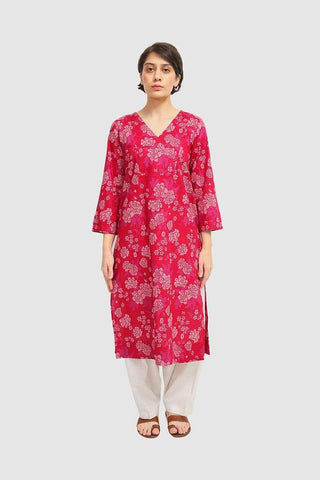 Generation - Pink Gulab Kurta - 1 PC