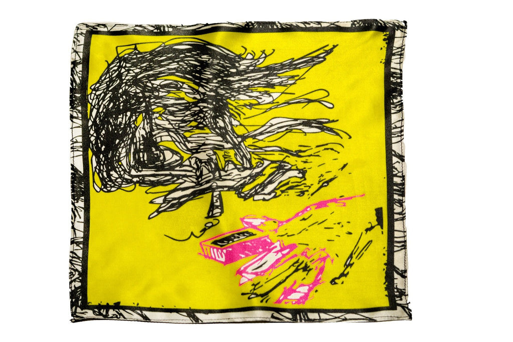 Popistan - Silk Yellow Pocket Square