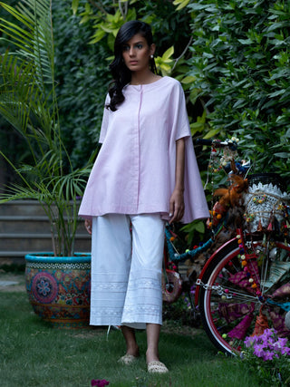 Misha Lakhani Light Pink Maddy Top