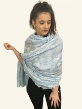 Amishi - Light Blue Lillia Lace