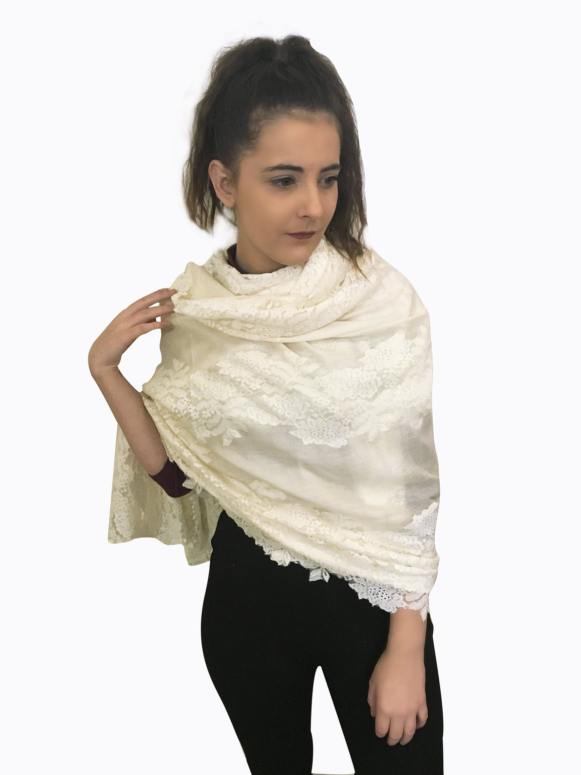 Amishi - Light Cream Lillia Lace